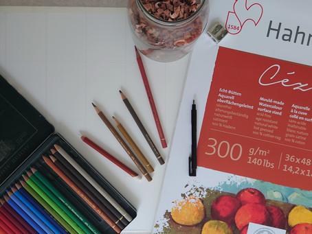 Coloured Pencil Challenge 2021