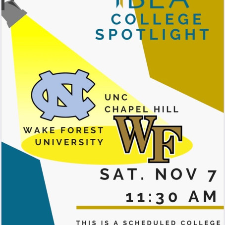 November College Spotlight Recap