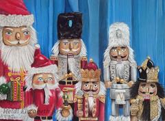 Nutcrackers of Christkindlmarkt