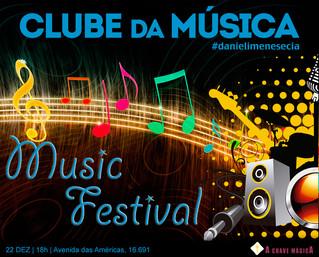 Um Festival de Boas Músicas da Escola de Música: Clube da Música - Daniel Imenes & Cia.