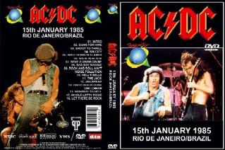 RIR 1985: O Primeiro Festival de Rock Épico em Terras Brasileiras - AC/DC