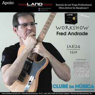 Fred Andrade no Projeto Papo de Mestre Clube da Música - Daniel Imenes & Cia.
