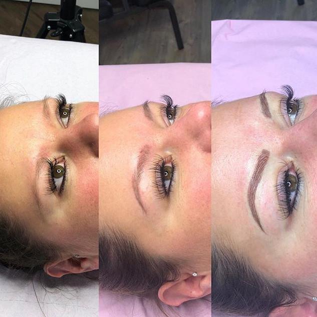 Semi Permanent 3D brows Colour boost