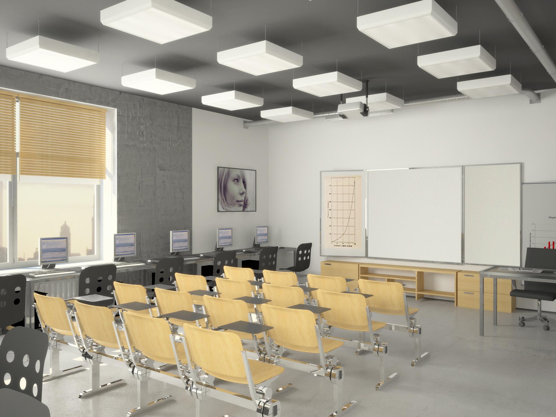 Дизайн учебной аудитории