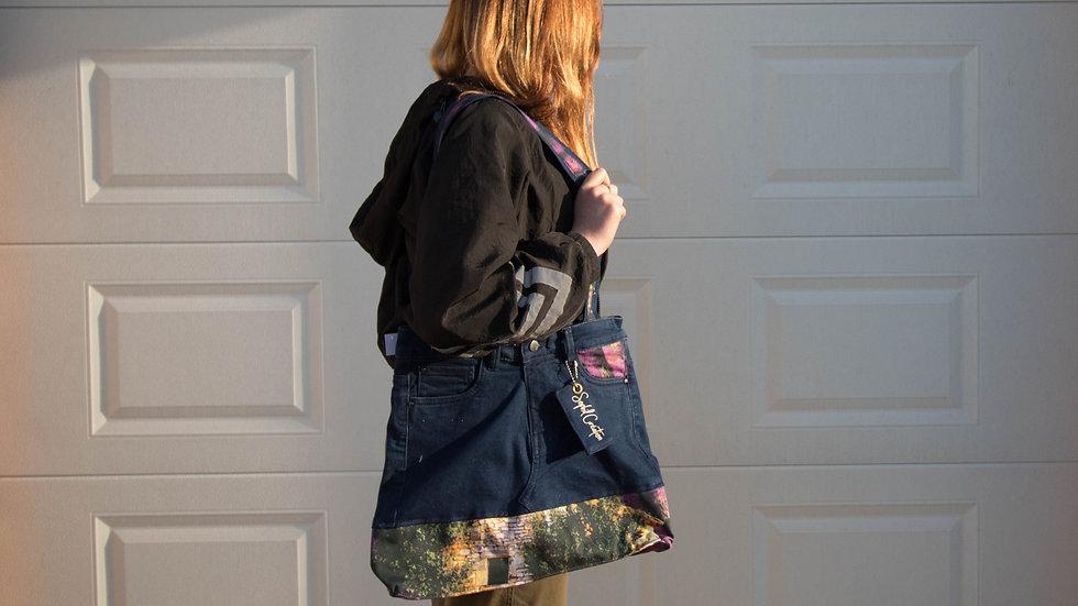 Les grands sacs en jeans