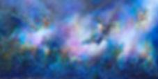Vanishing Thoughts original mixed media painting by Lifrancis Rojas