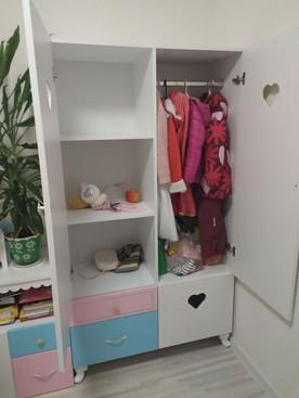 Шкаф с комодом