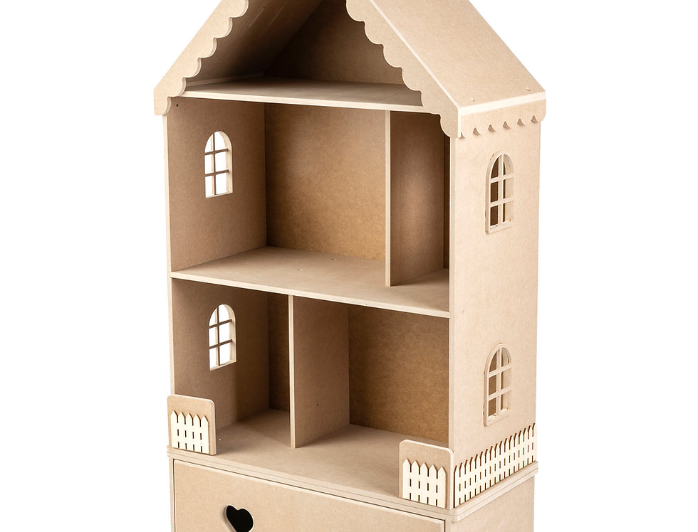 """Кукольный домик """"Луиза"""" без покраски"""