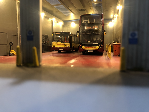 New Enviro 400 MMC in the depot