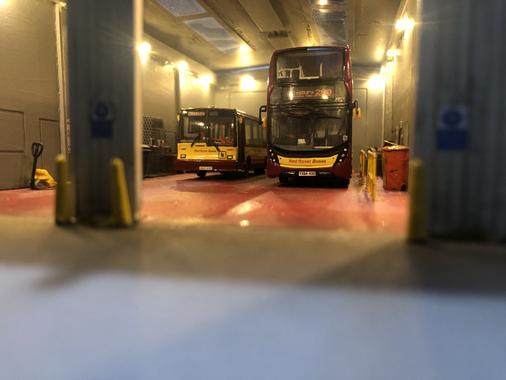 New Enviro 400 MMC in the depot