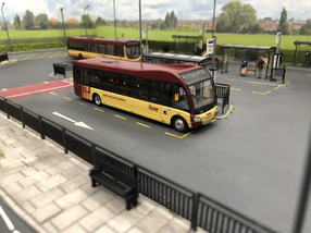 Solo SR in the bus station