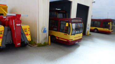 Ex Oxford Dart in the depot