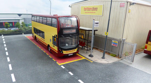 400MMC, at the stop outside the depot