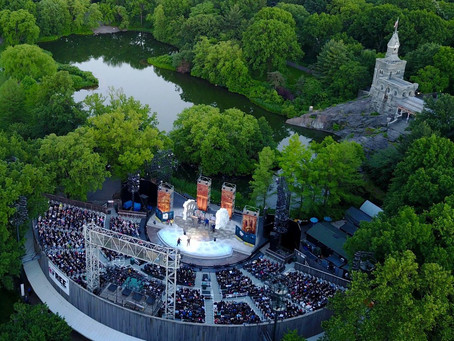 Shakespeare In The Park is BACK this summer!