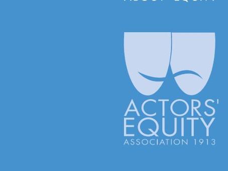 Actors' Equity Announces Open Access Plan!