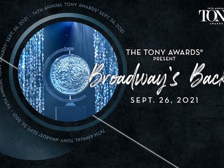 Special Tony Award recipients announced!