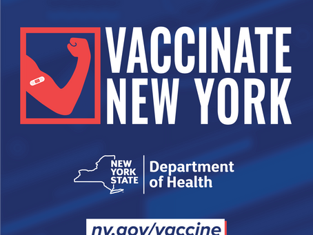 Starting April 6th, All New Yorkers Will Be Eligible For The Vaccine!