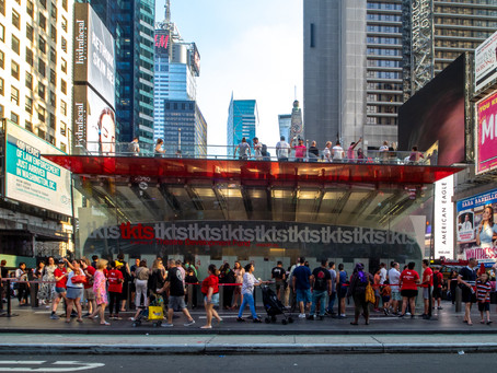 TKTS Booth to re-open in September!