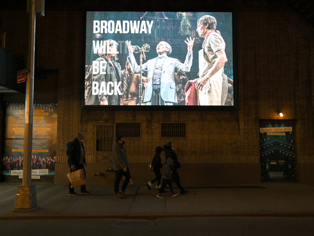 Broadway Is Coming Back!