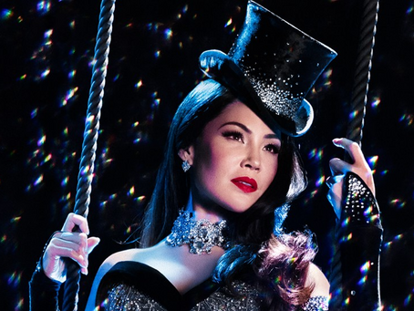 Natalie Mendoza cast as Satine in MOULIN ROUGE!