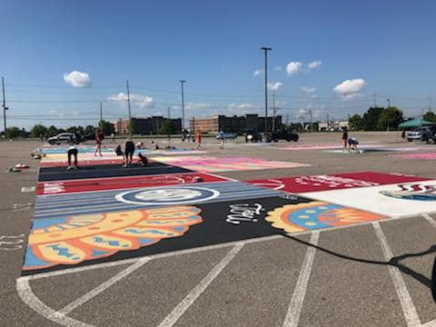 Senior Parking Space Donation