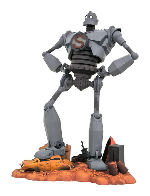 Iron Giant Gallery Statue§