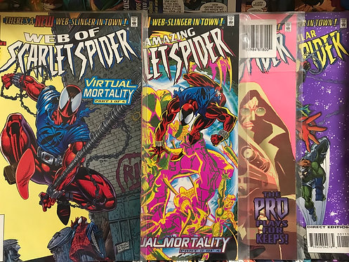Web Of Scarlet Spider Virtual Mortality Full Set