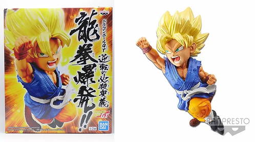 Dragonball GT Wrath Of The Dragon Super Saiyan Son Goku Statue
