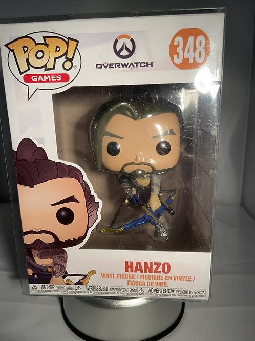 Overwatch Hanzo Funko Pop In Pop Protector