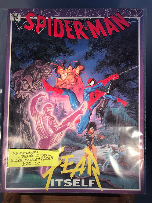 Spider-Man Fear Itself TPB Graphic Novel