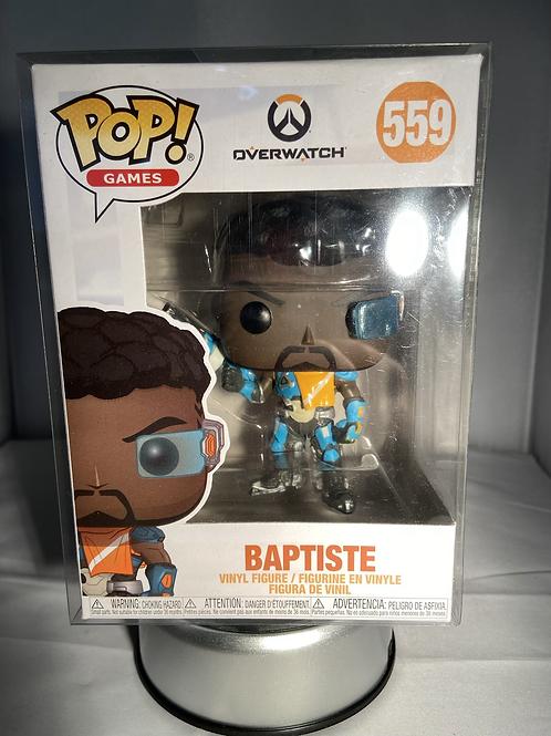 Overwatch Baptiste Funko Pop In Pop Protector