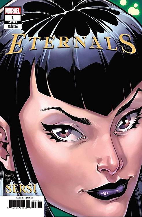 Eternals #1 Nauck Variant