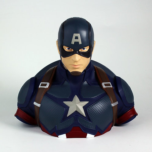 Captain America Bust Bank