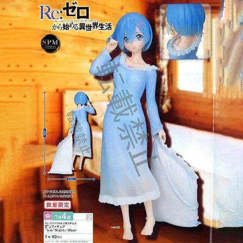 RE:ZERO Life In Another World Super Premium REM Night Wear Statue