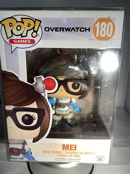 Overwatch Mei Funko Pop In Pop Protector