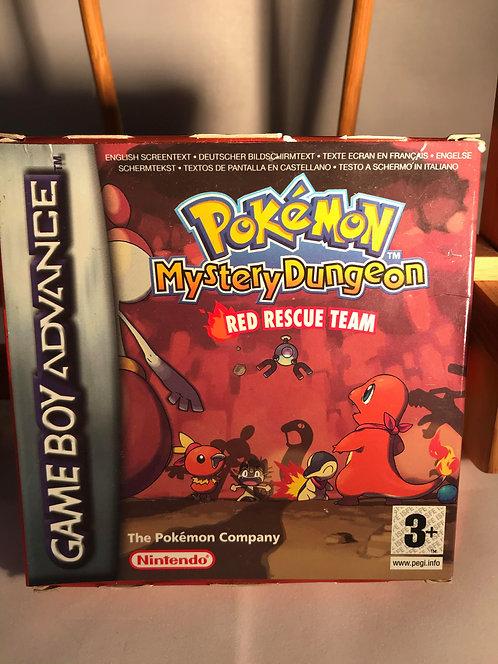 Pokemon Mystery Dungeon Red Rescue Team Game Boy Advance No Insert