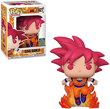 Funko Pop Dragon Ball Z Super Saiyan Goku 2020 Summer Exclusive
