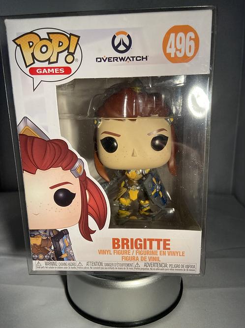 Overwatch Brigitte Funko Pop In Pop Protector