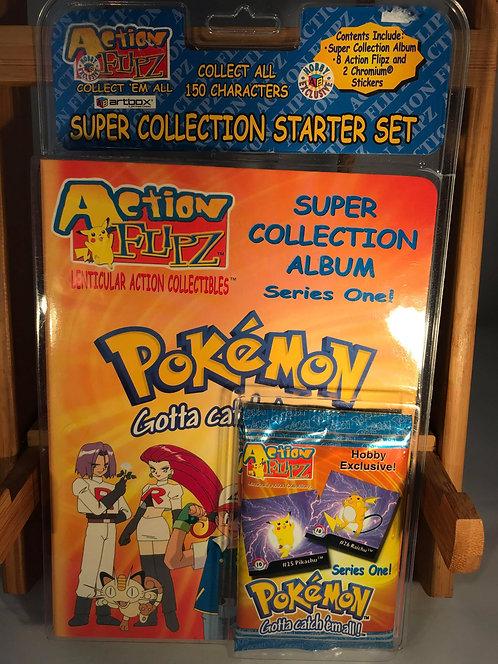 Pokemon Rare Action Flipz Sealed Case with Folder