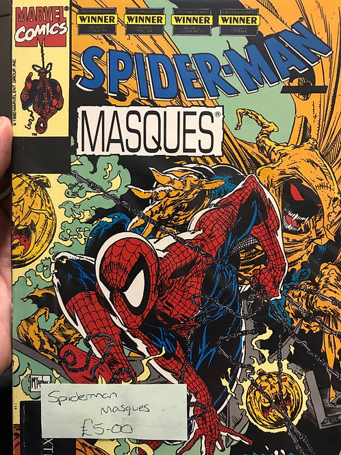 Spider-Man Masques Graphic Novel (Preowned)