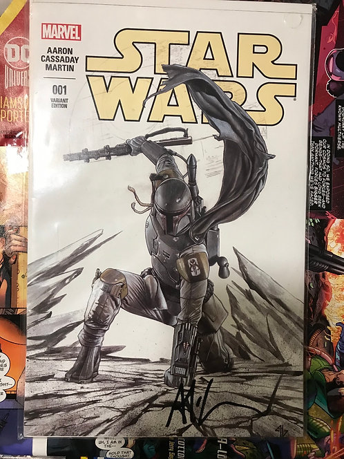 Star Wars #1 Signed By Adi Granov