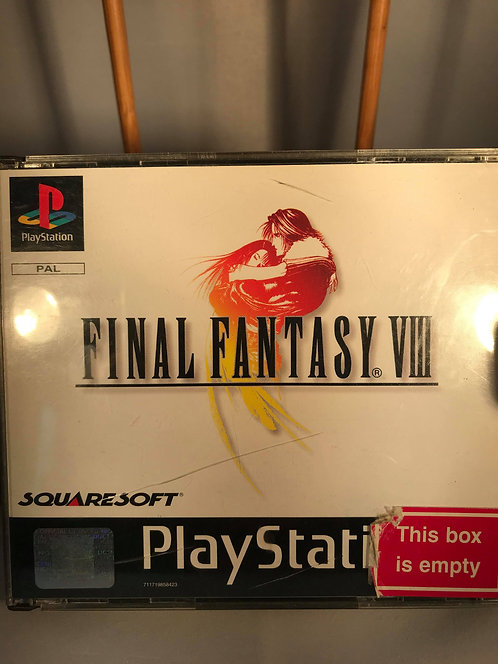 Final Fantasy 8 Black Label Playstation one PS1 Missing manual