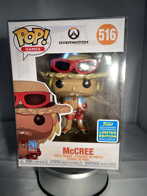 Overwatch McCree 2019 Summer Convention Exclusive Limited Edition Pop