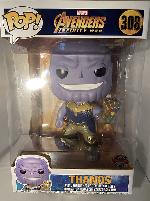 "Marvel Thanos Infinity War 10"" Funko Pop"
