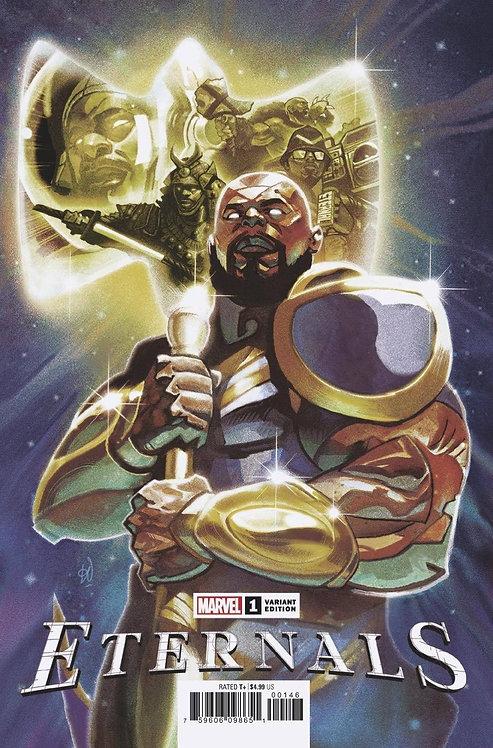 Eternals #1 Del Mundo Variant Marvel Comics