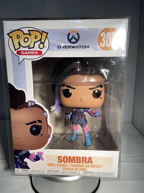 Overwatch Sombra Funko Pop In Pop Protector