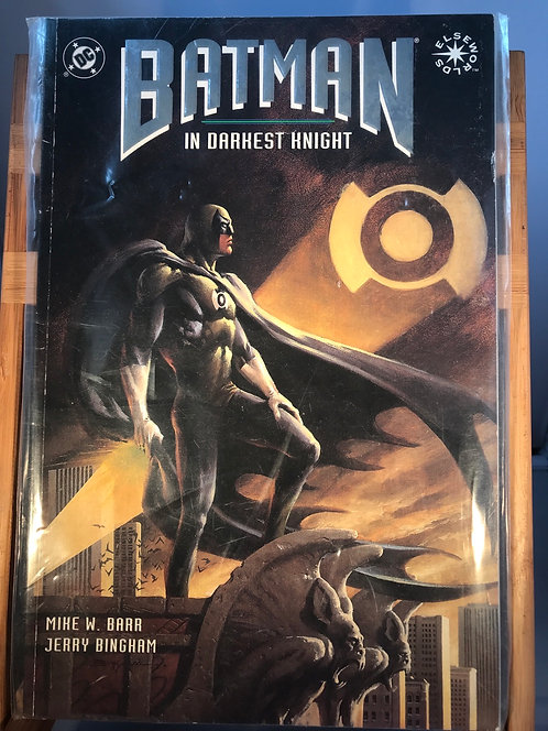 Batman In Darkest Knight TPB Graphic Novel (Preowned)