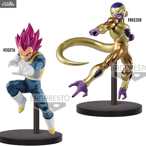 Vegeta and golden frieza Tag Team Statues