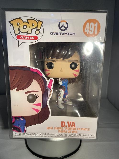 Overwatch D.Va Funko Pop In Pop Protector