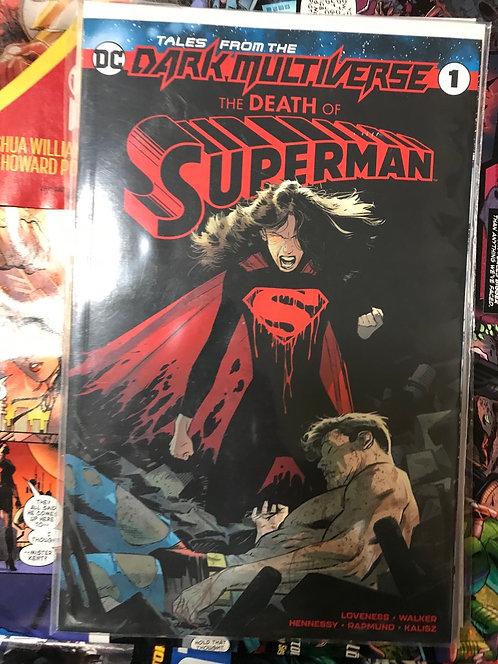 Death Of Superman #1 DC